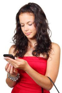 mobiele telefoon gebruiken